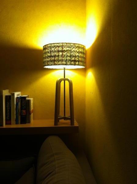 Donegal Lampenschirm und Tischlampe Andersen, perfekte Kombination in meinem Leben: Sanfte Beleuchtung, original .. Sehr schöne Produkte und Qualität!